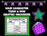 Character Then and Now Graphic Organizer