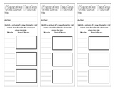 Character Tracker Bookmarks