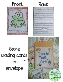 Character Trading Cards A Comprehension Strategy