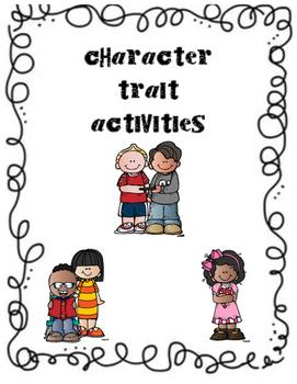 Character Trait Activities