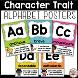 Character Trait Alphabet Posters