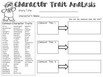 Character Trait Analysis