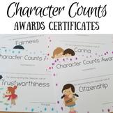 Character Trait Awards (editable)