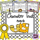 Character Trait Awards:  Set of 21 Certificates