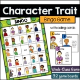 Character Trait Bingo
