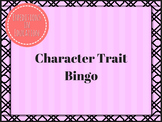 Character Trait Bingo: Adaptable for ANY Narrative Text or