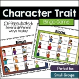 Character Trait Bingo (for small groups)