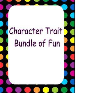 Character Trait Bundle of Fun!
