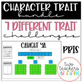 Character Trait Challenges PBIS BUNDLE