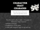 Character Trait Charades