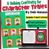 Character Traits Christmas Craftivity