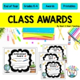 Character Trait Class Awards: A Fun End of the Year Activi