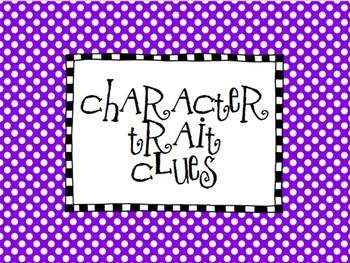 Character Trait Clues