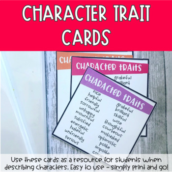 Character Trait Desk Pocket