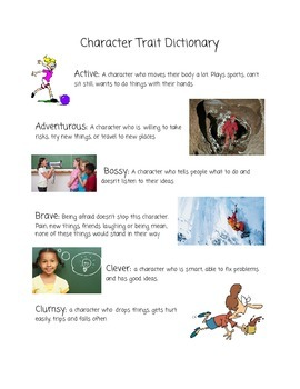 Character Trait Dictionary