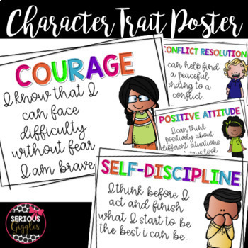 Character Trait Education Posters