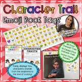Character Trait Emoji Book Tags