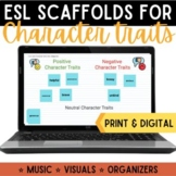 Character Trait Evidence F.A.S.T. Strategy {Digital & Print Resources}
