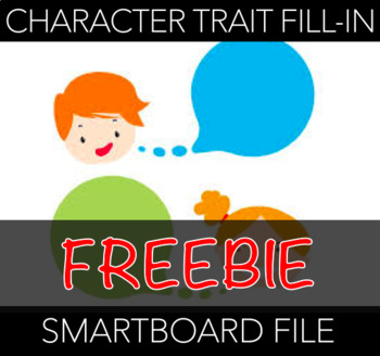 Character Trait Fill-Ins