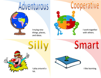 Character Trait Flashcards