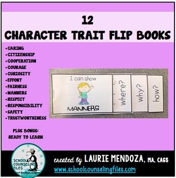 Character Trait Flip Books
