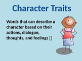 Character Trait Graphic Organizer (EDITABLE)