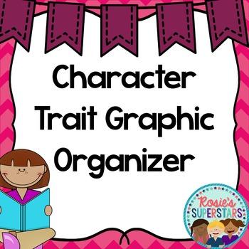 Freebie: Character Trait Graphic Organizer