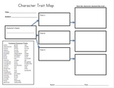 Character Trait Graphic Organizer (Independent Practice)
