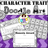 Character Trait - Honesty - Doodle Coloring