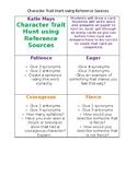 Character Trait Hunt