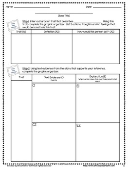 Character Trait Inferencing Using SHOW YOUR THINKING® Steps