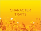 Character Trait-Introduction Powerpoint