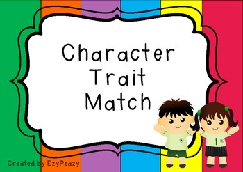 Character Trait Match