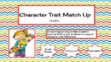 Character Trait Matching Activity