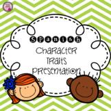 Character Traits, Spanish
