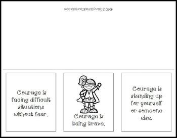 Character Trait Paper Folding Activities