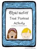 Character Trait Portrait Activity