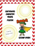 Character Trait Poster Second Grade Words