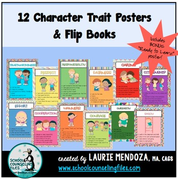 Character Trait Posters & Flip Books