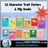 Character Trait Posters & Flip Books Bundle - Save!