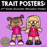 Character Trait Posters 2nd Grade Freebie