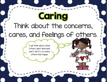 Character Trait Posters