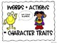 Character Trait Posters: 1st-5th RTI and Reading