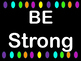 Character Trait Posters Black Background