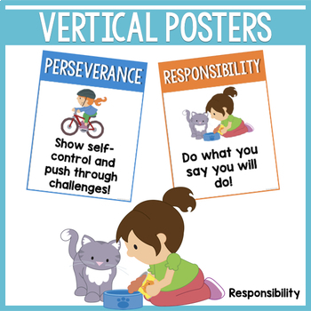 Building Character Classroom Posters