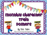 Character Trait Posters - Polka Dot