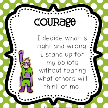 Character Trait Posters 2: Ready to Use Posters To Motivate Your Students