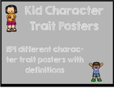 Character Trait Posters featuring kids