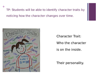 Character Trait Power Point