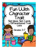Character Traits in Reading Activities